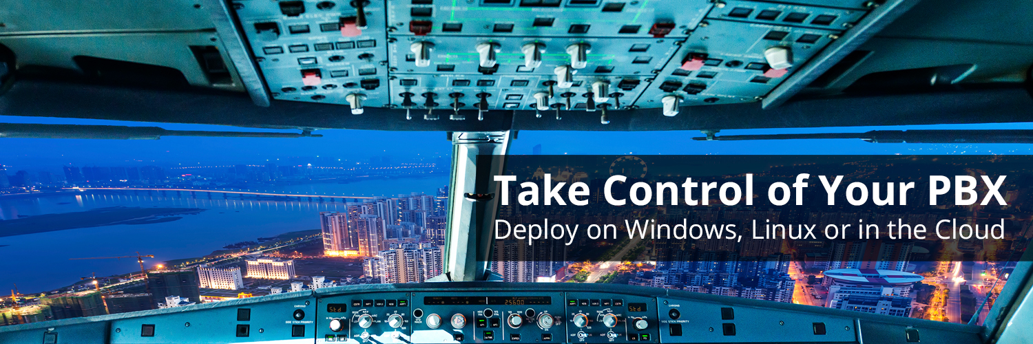 3CX: Take control of your PBX: Deploy on Windows, Linux or in the Cloud